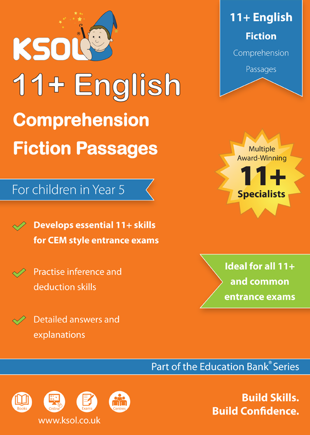 KSOL English Comprehension Fiction Pack