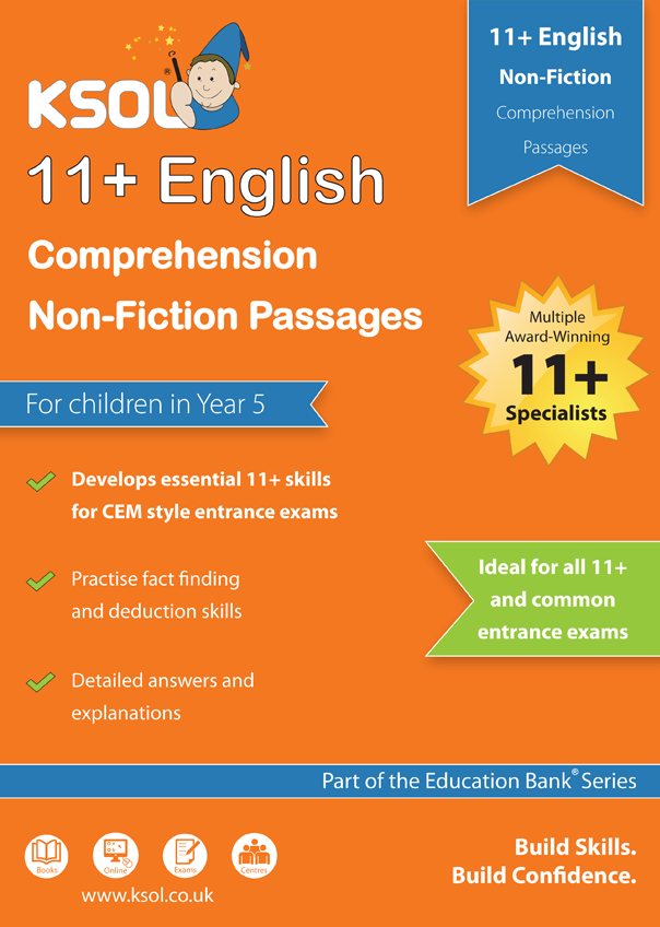 KSOL English Comprehension Non-Fiction Pack